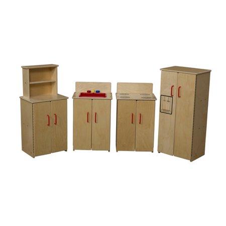 Wood Designs 4 Piece Kitchen Appliance Set