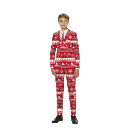 Winter Wonderland Costume (OppoSuits Teen Boys Winter Wonderland Christmas)