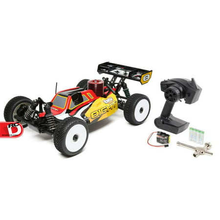 Losi Comp Crawler - Losi 04010 1:8 8IGHT Nitro Ready-to-Run 4WD Buggy