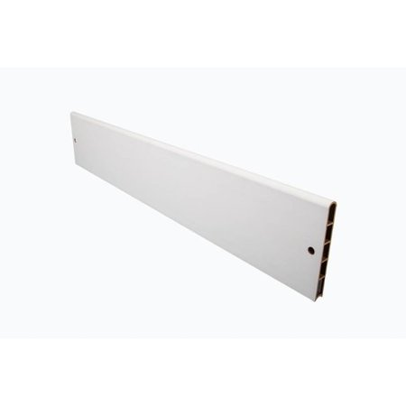 Frame It All White Straight Composite Board