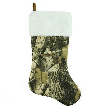Camo Christmas Stocking (21.5