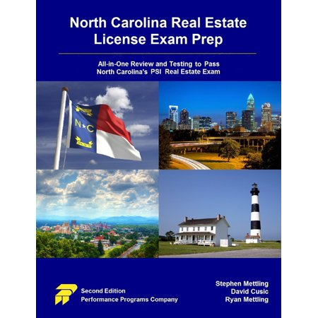 North Carolina Real Estate License Exam Prep: All-in-One Review and Testing To Pass North Carolina's PSI Real Estate Exam - eBook