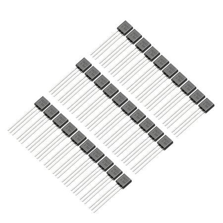 30pcs Plastic-Encapsulate Power TO-92 Transistor NPN 25V 0.5A 625mW