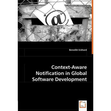 Context Aware Notification In Global Software Development