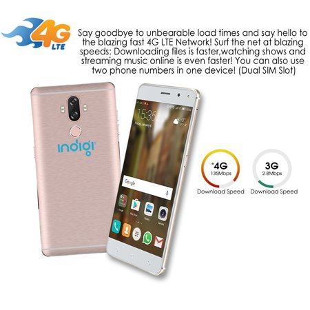 Indigi 4G LTE 6 inch SmartPhone GSM Unlocked (Android 7