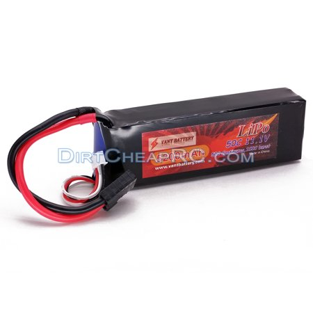11.1V 5200mAh 3S Cell 50C-100C LiPo Battery Pack w/ Traxxas High Current Style