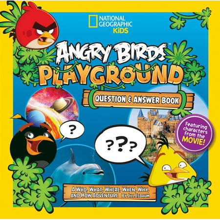 Angry Birds Playground: Question & Answer Book : A Who, What, Where, When, Why, and How - 1-7 Angry Birds Halloween