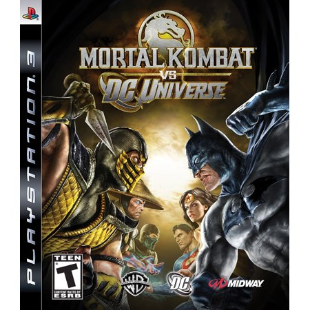 Mortal Kombat Vs DC Universe (PlayStation 3) (Mortal Kombat Vs Dc Universe Combos Ps3)