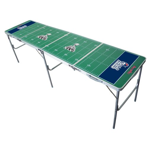 NFL 2 x 8 Tailgate Pong Table