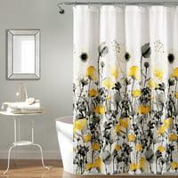 shower curtains walmart com yellow