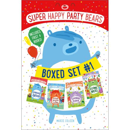 Super Happy Party Bears Boxed Set #1 : Gnawing Around; Knock Knock on Wood; Staying a Hive; Going Nuts