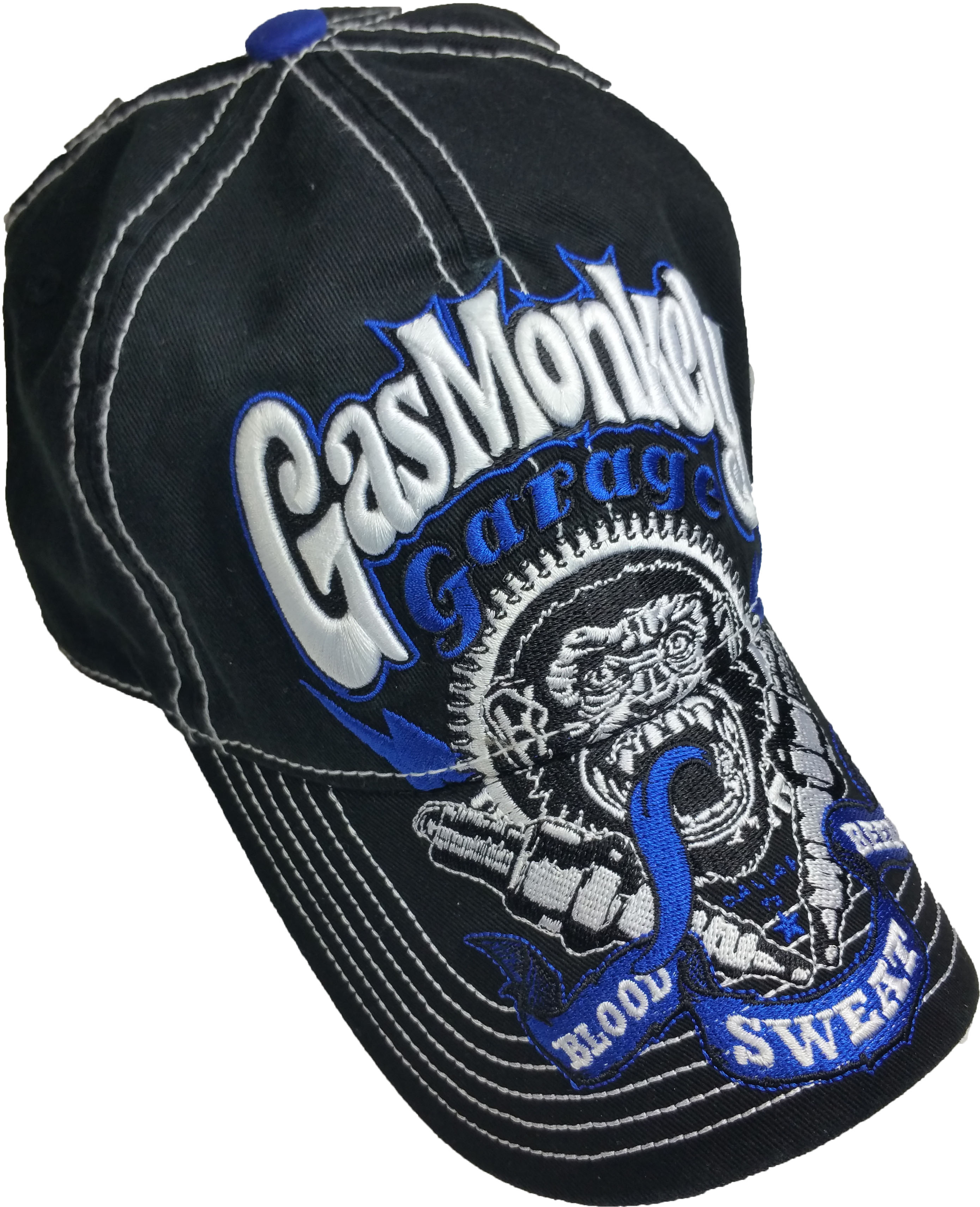 243ef718f49fa Supplier Generic - Men s Gas Monkey Washed Baseball Hat with Embroidered  Bill - Walmart.com