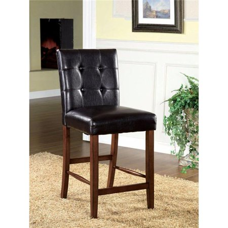 Rockford I Contemporary Pub Chair, Dark Oak - Set of