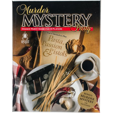 Murder Mystery Party GamePasta, Passion & - Halloween Party Mystery Games