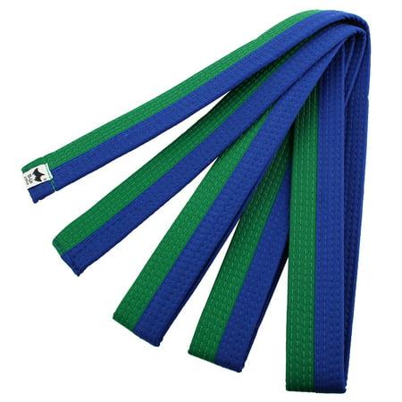 Solid Sporty Rank Tae Kwon, Taekwondo Belt, Martial Arts Karate Band Green Blue