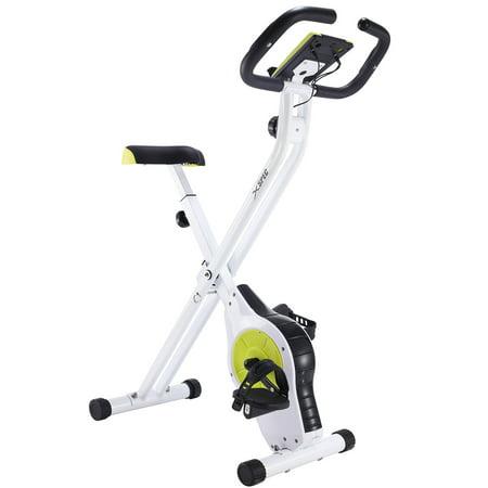Xspec Foldable Stationary Upright Exercise Bike Workout Indoor Cycling