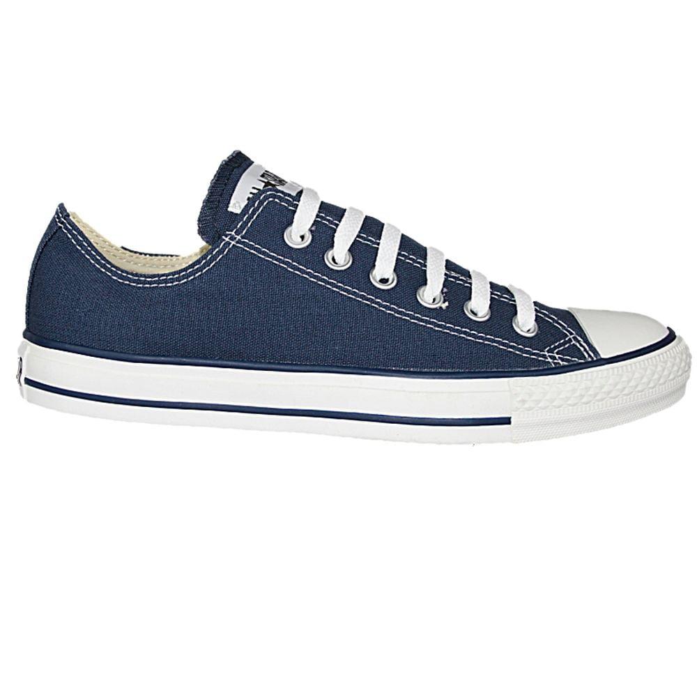 Converse M9697C-100 Unisex Chuck Taylor All Star Low Top Shoes, Navy, 10 M US Men/ 12 M US Women