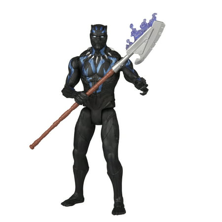 Marvel Black Panther 6-inch Vibranium Suit Black Panther (Black Panther Suit)