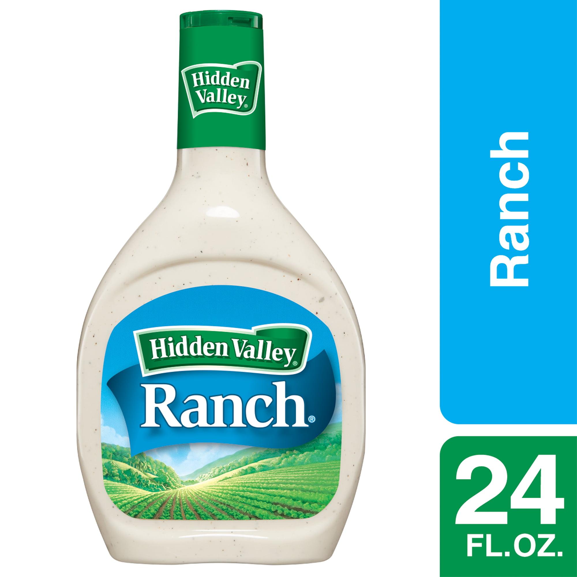 Hidden Valley Original Ranch Salad Dressing & Topping, Gluten Free - 24 oz Bottle