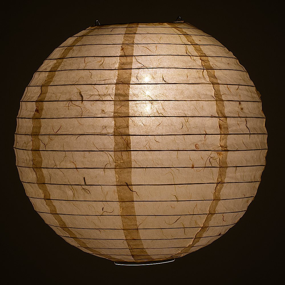 "PaperLanternStore.com 12"" Cloud Dragon Japanese Kozo Unryu Fibrous Paper Lantern Shade, Hanging Decoration by Quasimoon"
