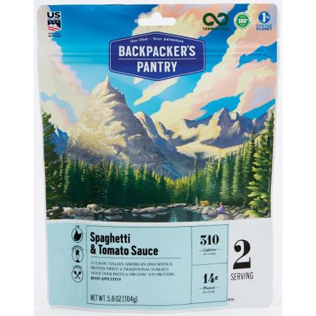 Backpackers Pantry 701104 Spaghetti & Sauce 2p, Pack of 1