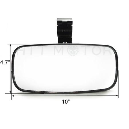 HTTMT- UTV Rear View Convex Mirror for Side POLARIS RZR XP 1000 900 800 RZR 1.75
