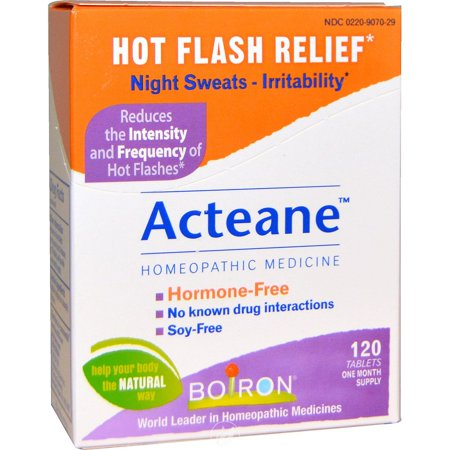 Boiron Acteane For Hot Flashes 120 Tablet, Pack of