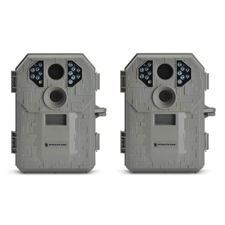 Stealth Cam P12 IR 6.0 MP Scouting Trail Hunting Game Camera with Video (2 Pack) - image 6 de 6