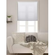 """Arlo Blinds Single Cell Light Filtering White Cordless Cellular Shades,30""""Wx48""""H"""