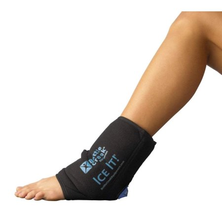 "Cold & Hot Therapy System Ice Pack Wrap for Ankle, Elbow and Foot - ! MaWalmartFORT™ (Ankle/Elbow/Foot Design; 10 ½"" x 13"") - F30514, Fully Flexible Ice.., By Ice"