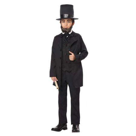 Abraham Lincoln Kids Costume (Kids Abraham Lincoln Costume)