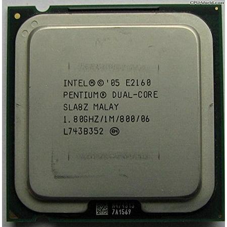 Intel Pentium E2160 Dual Core CPU Processor- SLA8Z - (Intel Pentium D Vs Core 2 Duo)