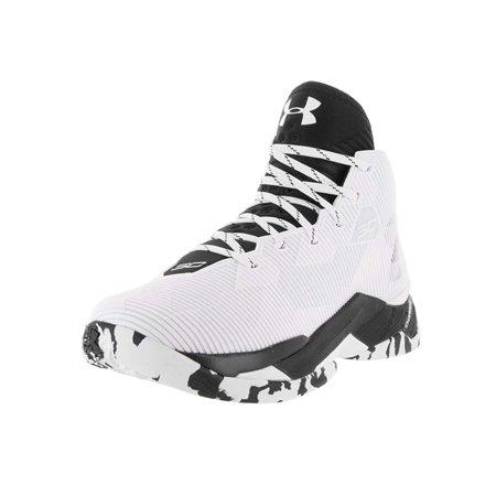 2ce9ee06af Under Armour Mens Curry 2.5 White/Black/Black Basketball Shoe 9 Men US