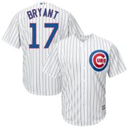 Kris Bryant Chicago Cubs Youth Official Cool Base Player Jersey - White