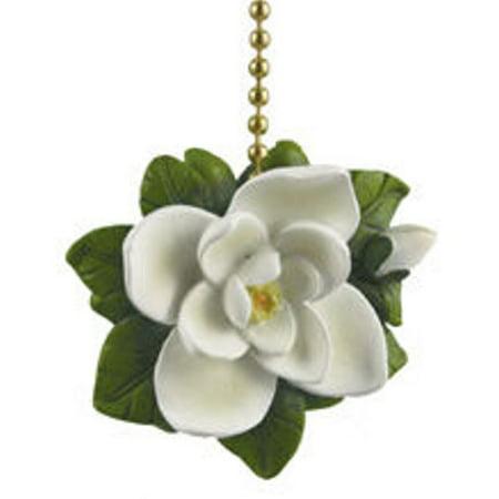 Southern Magnolia Tree Flower Floral Fan Light Pull