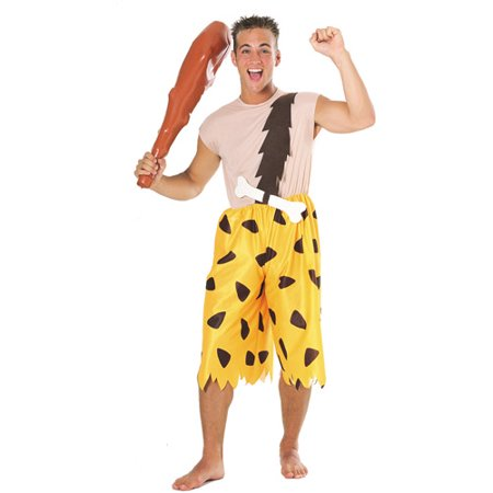 Flinstone Costumes (Flintstones Bamm Bamm Adult Halloween Costume, Size: Men's - One)