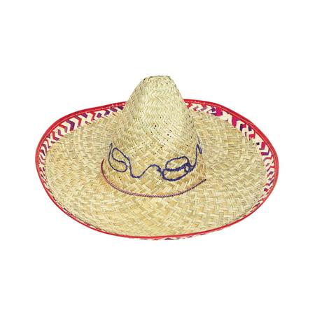 (4 pack) Adult Sombrero