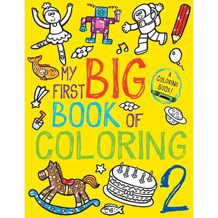 My First Big Book of Coloring 2 - First Grade Halloween Coloring Pages