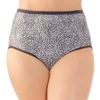 Vanity Fair Womens Body Shine Illumination Brief, 8, Vivid Azalea