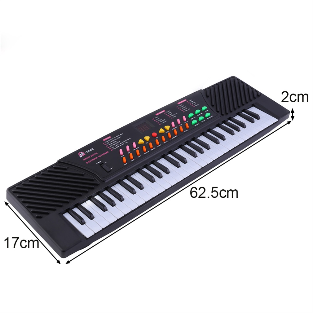 54 Key Children's Digital Keyboard Music Piano for Adults Or Children Beginners Electronic W/Mic Organ