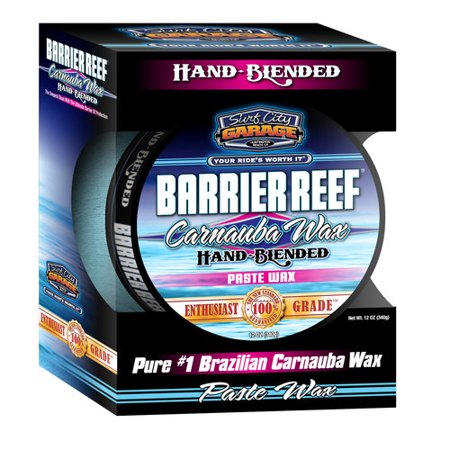 Surf City Garage Barrier Reef Carnauba Paste Wax Kit, 12 Oz. - Lot of