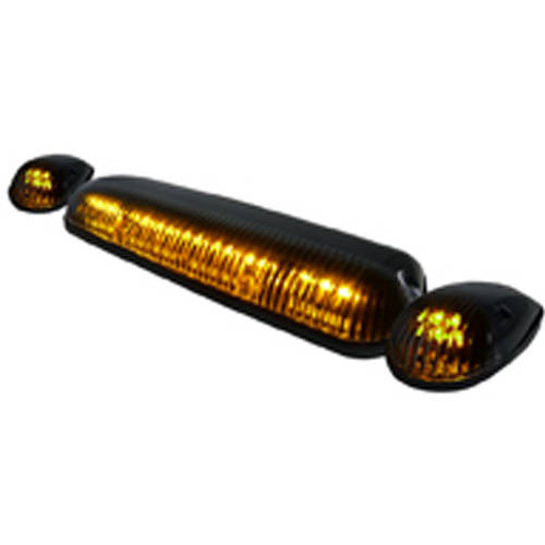 Spec-D Tuning Roof Cab LED Light, Clear Lens 3pc Set