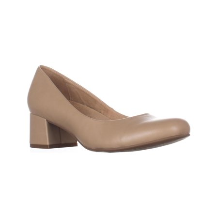 Womens naturalizer Donelle Kitten Heel Classic Pumps, Tender Taupe