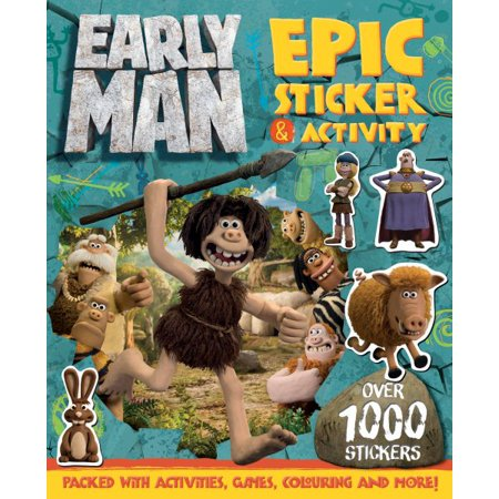 Early Man Epic Sticker & Activity Book - Halloween Early Years Activities