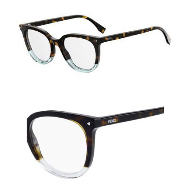 Eyeglasses Fendi Ff 235 0PHW Havana Green