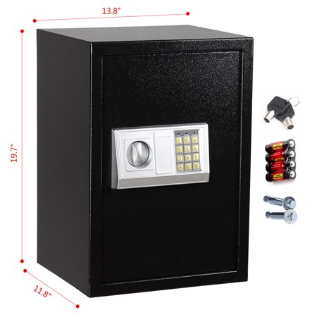 ktaxon large digital electronic safe box keypad lock gun security steel safe. Black Bedroom Furniture Sets. Home Design Ideas