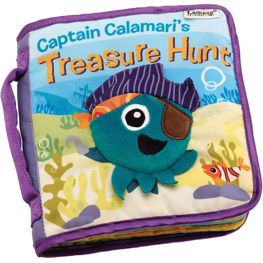 Lamaze Cloth Book, Captain Calamari's Treasure Hunt