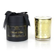 D.L. & Co. Vanille Peche Gold Candle