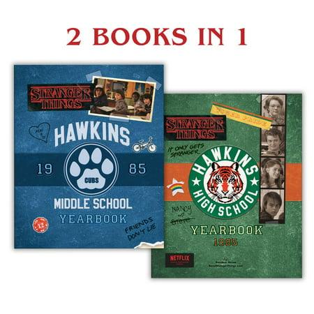 Hawkins Middle School Yearbook/Hawkins High School Yearbook (Stranger Things) - (Central High School San Angelo Tx Yearbooks)