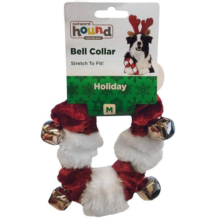 Outward Hound Kyjen Holiday Dog Bell Collar